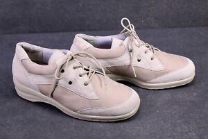 C1188-Theresia-M-Damen-Comfort-Schuhe-Schnuerschuhe-Leder-beige-Gr-40-5-7K