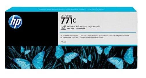 ORIGINALE HP INCHIOSTRO DESIGNJET Z6200/771 771C Foto Black CE043A 775ML