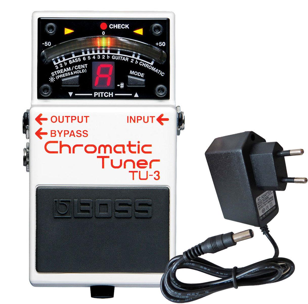 Boss TU-3 chromatisches Stimmgerät + Netzteil