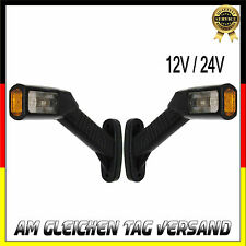 2x LED 12/24V Umrissleuchte Begrenzungsleuchte Positionsleuchte Markierung