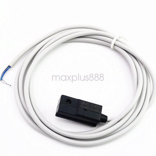 Cilindro de 5Pcs Aire Neumático interruptor magnético de láminas D-B54 Sensor De Cable 2M SMC