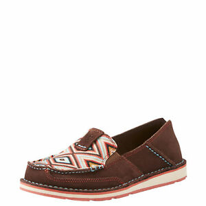 Ariat-10023011-Cruiser-Pastel-Aztec-Print-Western-Casual-Moc-Toe-Slip-On-Shoes