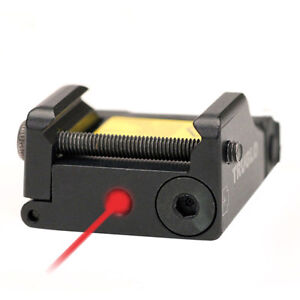 Truglo Micro Tac Red Laser Aiming Sight Fits Walther Ccp