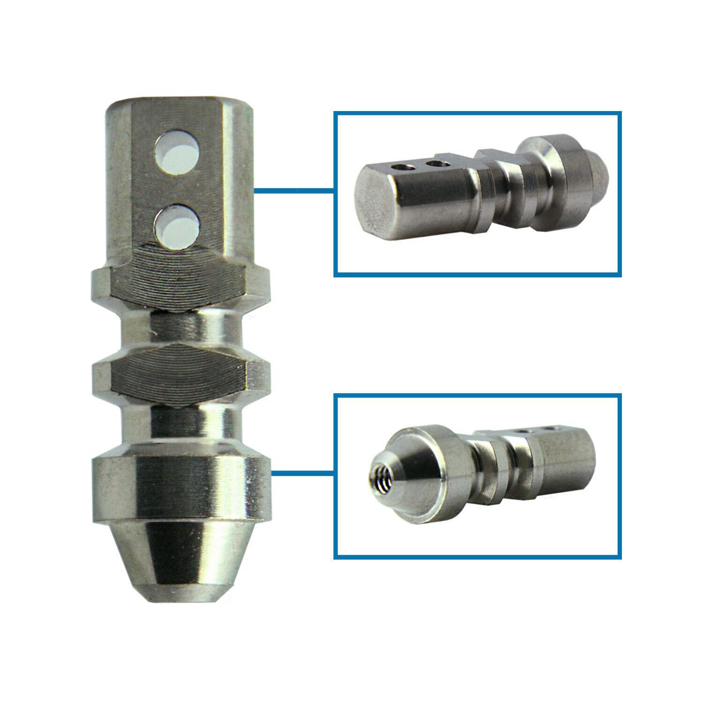 Estribo de implante dental 5x Rs Unidad de varios varios varios conexión cónica RP 3.5 Nobel Active dd43e3
