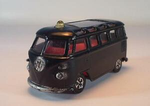 Lone Star 1/59 Volkswagen VW Bus Politie schwarz #342