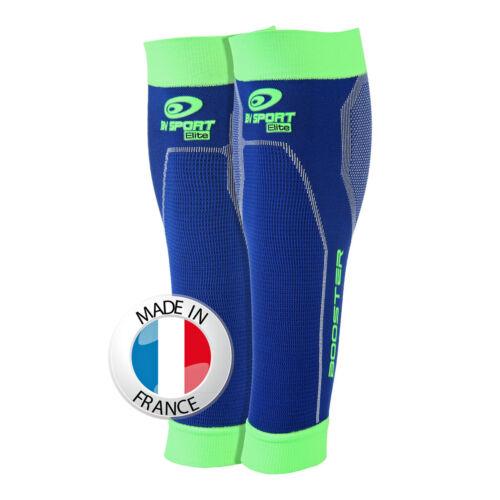 BV sport Booster Elite Calf Blue//Green110063bg Compression