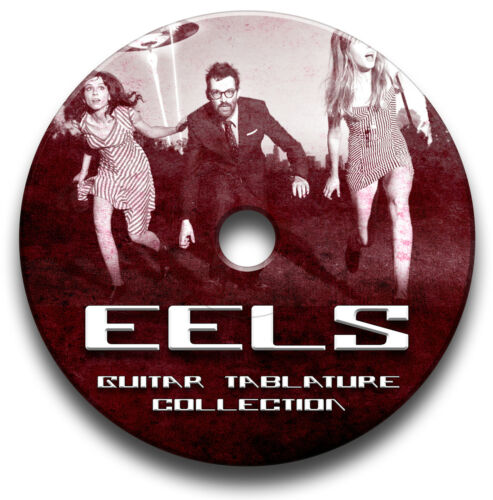 EELS GUITAR TAB TABLATURE SONG BOOK LIBRARY SOFTWARE CD ANTHOLOGY
