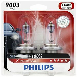 2x-GERMANY-Philips-9003-X-TremeVision-H4-Super-Bright-Upgrade-Light-Bulb-67-60W