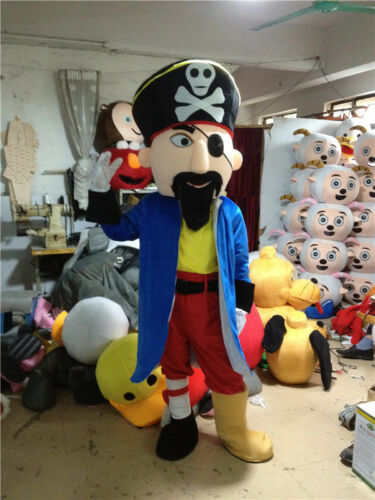 High quality pirate mascot cartoon doll costume outdoor performance props