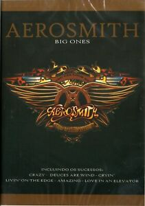 Aerosmith-Dvd-Big-Ones-Brand-New-Sealed-Rare