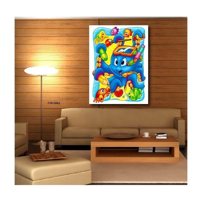 Gemälde Stoff Deko Tiere Meer Kind 77909668 77909668
