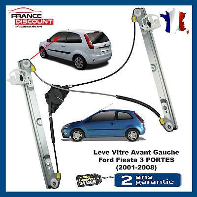 Mecanisme de leve vitre électrique de Fiesta V 3 portes avant gauche =1233193