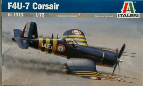 7 corsair kit 1:72 aerei scala italeri F4u