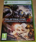 XBOX 360 gioco Supreme Commander 2 italiano come nuovo
