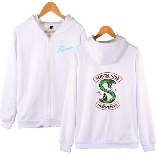 Southside Serpent Unisex Riverdale Hoodie Programme Jumper sweatshirt Zipper