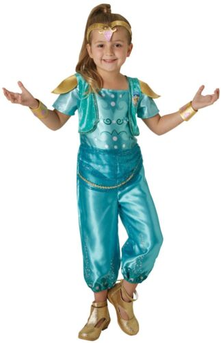 Girls Zoomicorns Shimmer Shine Official TV Film Book Fancy Dress Costume Outfit