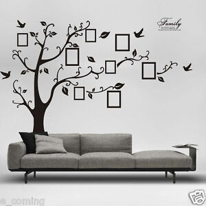 3D-DIY-Photo-Tree-PVC-Decals-Adhesive-Wall-Stickers-Mural-Art-Room-Bedroom-Decor