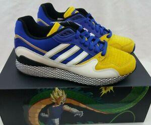 Adidas Ultra Tech Dragon Ball Z Vegeta Blue Yellow D97054 Goku Gonna Size 9.5
