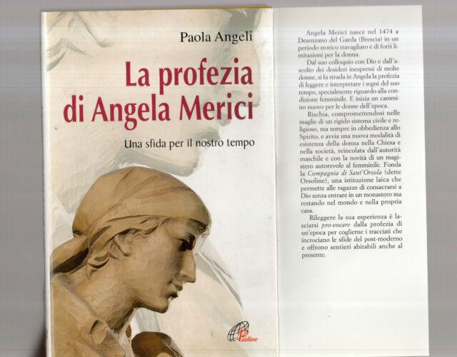 la profezia di angela merici - paola angeli - augustfive