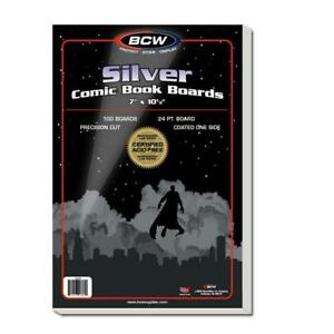 500-BCW-THICK-SILVER-Comic-Bags-and-500-Backing-Boards