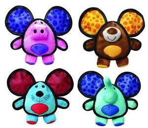 Kong Ballistic oreilles peluche jouet pour Chien Multicolore moyen