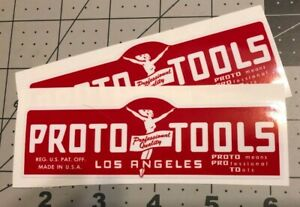 Proto-Tools-Flying-Lady-decals-for-restoration-of-vintage-tool-box-4-3-4-Set-2
