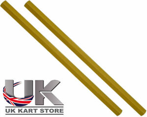 PISTA-Tirante-250mm-x-M8-dorado-hexagonal-X2-UK-Kart-Store