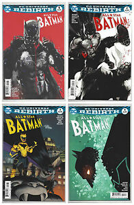 9.4 BATMAN ALL STAR #2 DC UNIVERSE REBIRTH NOVEMBER 2016 NM