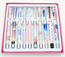 10pcs Hero Student Fountain Pen for Little Girl with 12pcs free ink cartridges
