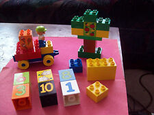 LEGO DUPLO GOOD LOT  BRICKS & PIECES FOR SET # 5497 PLAY WITH NUMBERS