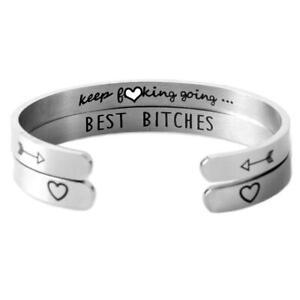 Inspirational-Armband-Manschette-oeffnen-Armreif-gravierte-Edelstahl-Familie