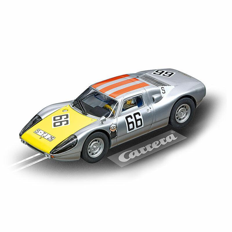 CARRERA Slot Car Porsche 904 Carrera GTS 'No.66' 1 32 27613