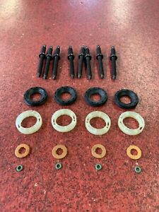 FUSION-1-6-TDCI-04-12-4-x-INJECTOR-SEALS-PROTECTORS-WASHERS-O-RINGS-8-STUDS