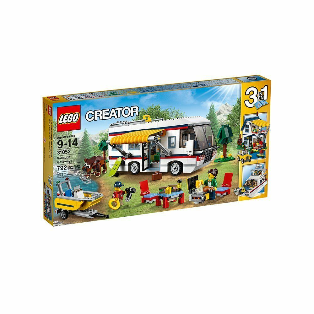LEGO Creator Vacation Getaways 31052 - Box Wear - Ships Fast - Brand New - READ