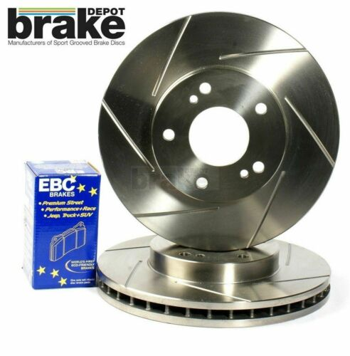 Lexus IS200 IS300 Front and Rear Performance Brake Discs and EBC Ultimax Pads