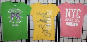 3-Pc-Aeropostale-Lot-Girl-039-s-Shirts-Tops-2-Size-10-1-Size-12-Good-Condition