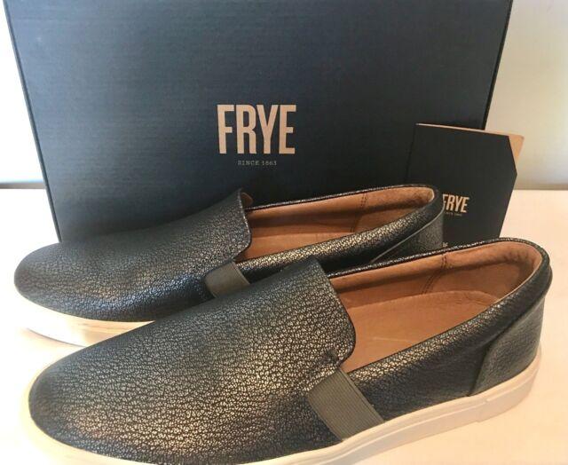 FRYE Ivy Slip On Shoe Pewter Women's 10