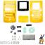 Gameboy-Color-Gehaeuse-Display-Game-Boy-Batterie-Deckel-Tasten-Case-Shell-Gelb Indexbild 1