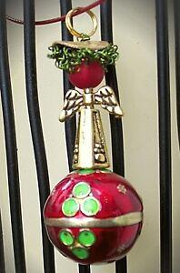 Sinnvoll Woelke Design© Feenkugel Engelsrufer Schutzengel In Sinnlichem Rot S 925 Seien Sie Freundlich Im Gebrauch