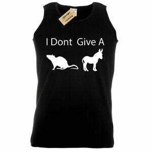 -- - Funny I Don/'t Give A Rats Ass Men/'s T-Shirt Humor Laugh - Novelty -