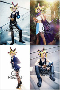 Yu-Gi-Oh-Cosplay-Photo-Prints-Yami-Yugi-Atemu-Pharaoh-Atem-Set-ygo-yugioh