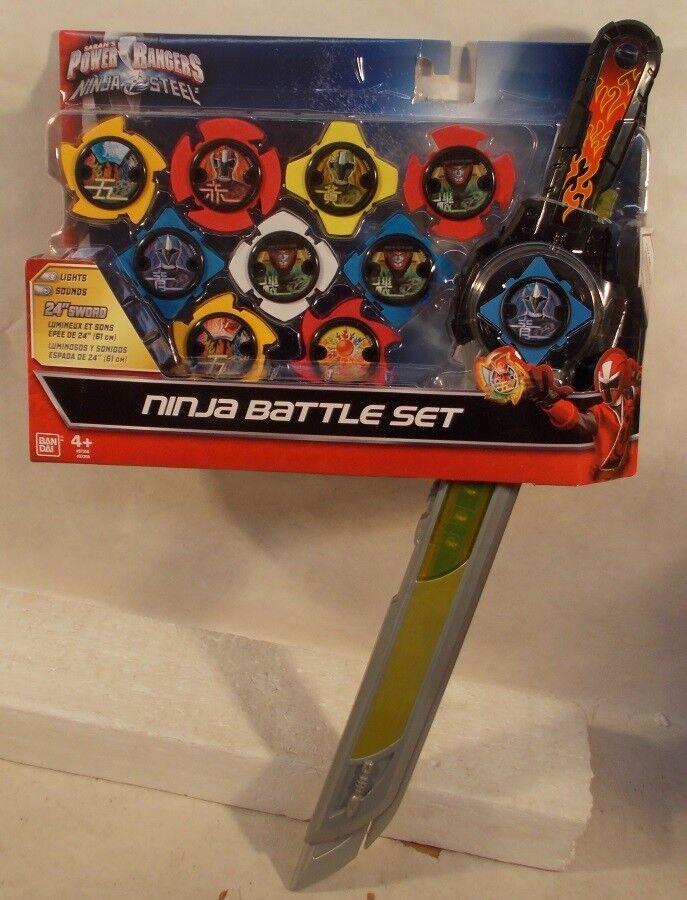 Power Rangers Ninja Steel Exclusive DX Ninja 9 Stars Blade Battle Gift Set Role