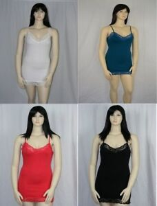 Plus-Size-Camisole-Full-cotton-with-lace-trim-Size-18-to-24