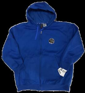 Men-039-s-Solid-Full-Zip-Up-Hoodie-Hooded-Zipper-Sweatshirt-Unisex-Royal-3X-4X-5X