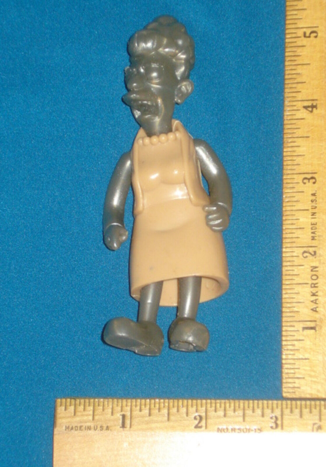 Prototype Test Shot Figure Playmates Simpsons AGNES SKINNER  Wave 16 No Copy V3