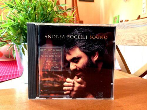"""1 von 1 - Andrea Bocelli    """"Sogno""""     CD"""