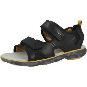 info for 08e53 aaa96 Details zu GEOX U Nebula L B Schuhe Herren Sandalen Men Sandaletten black  U926WB00043C9999
