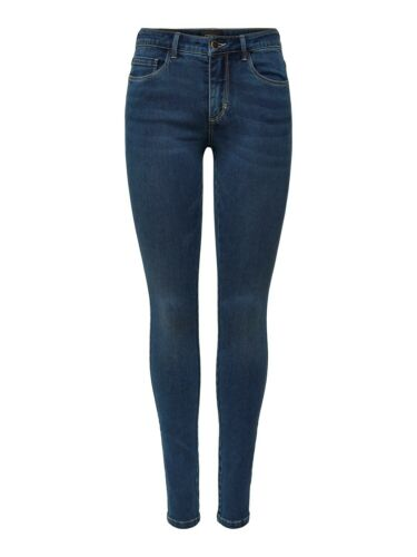 ONLY Jeans Femmes onlroyal Reg Skinny Jea BB bj13964-SKINNY FIT-Dark Blue