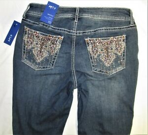 609475795918 Jeans cut boot Nwt femme taille 10 xwTYUBw1q