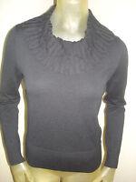 Cato Black Cowl Neck Sweater Womens Size Small S